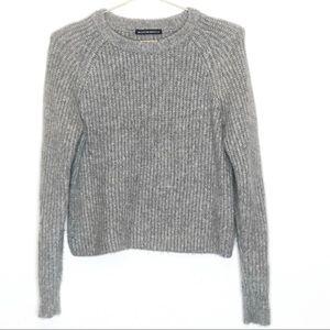 Brandy Melville   Gray Chunky Sweater